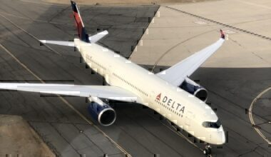 Delta plane from above