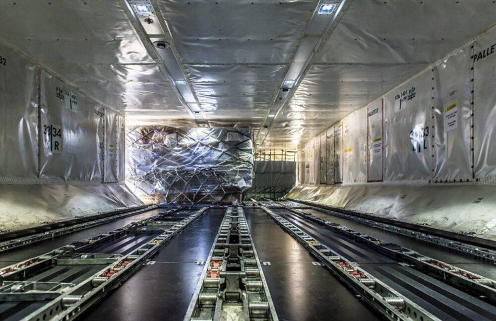 United Cargo 787 Interior