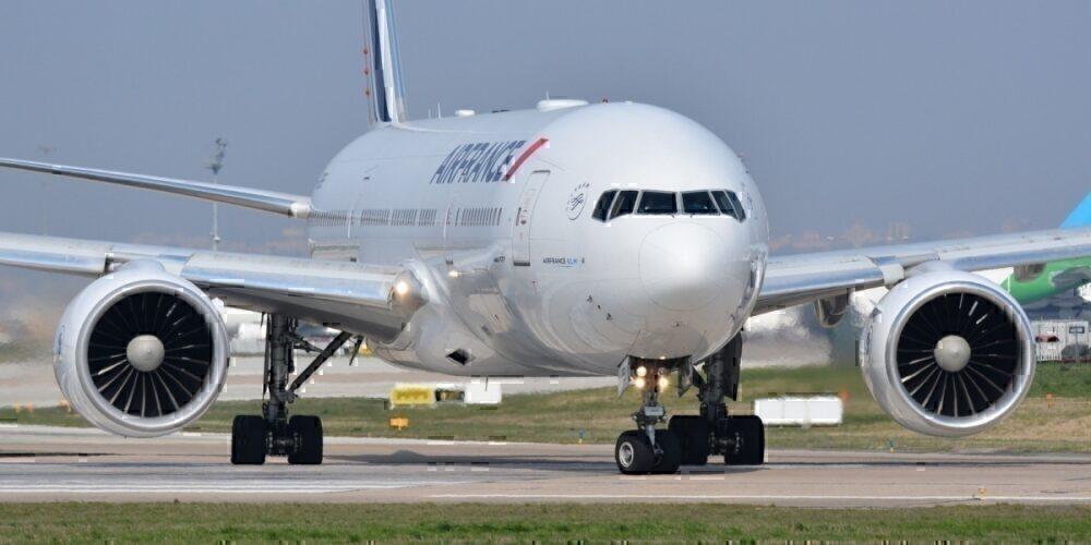 Air france plane runway