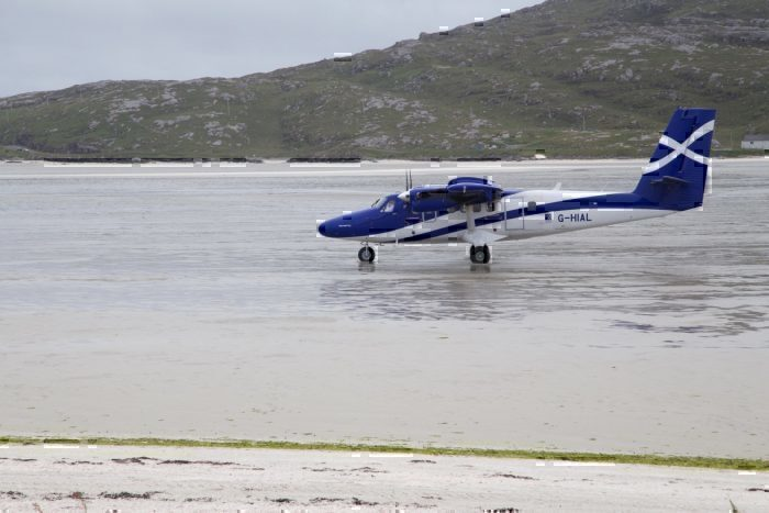 DHC-6 Twin Otter in Barra
