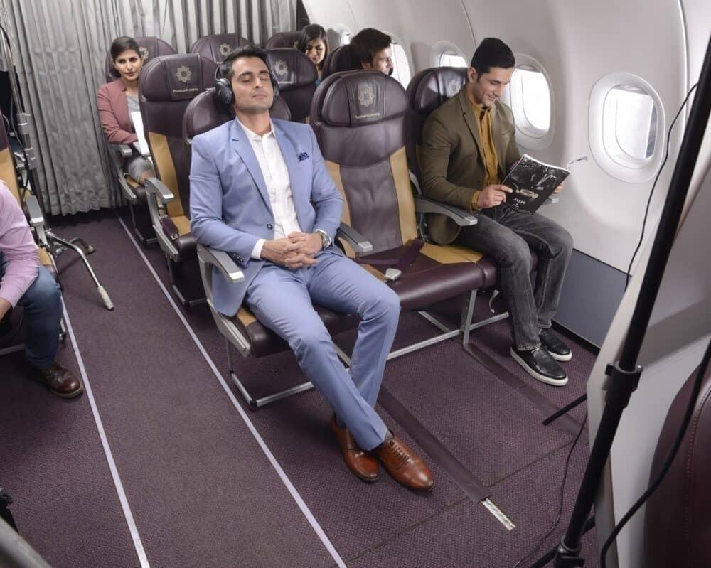 Vistara Premium Economy Empty Seats
