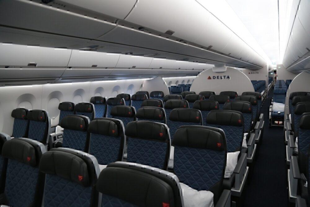 A350 interior