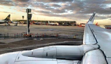 Stansted Airport, Runway Work, Closed Runway