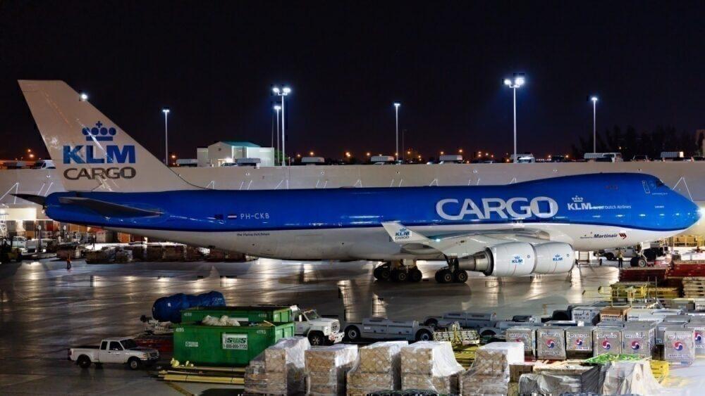 KLM Cargo plane