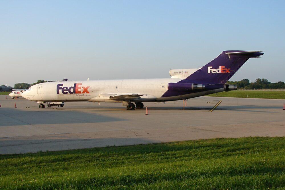 Boeing 727F FedEx
