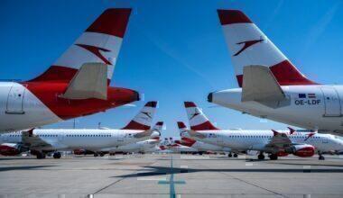Austrian Airlines, Flight Suspension, June
