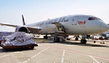 Virgin Atlantic, Cargo, Medical Aid