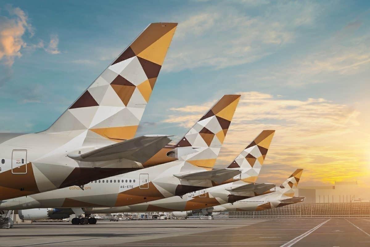 Etihad Airways, Stored Aircraft, Maintenance