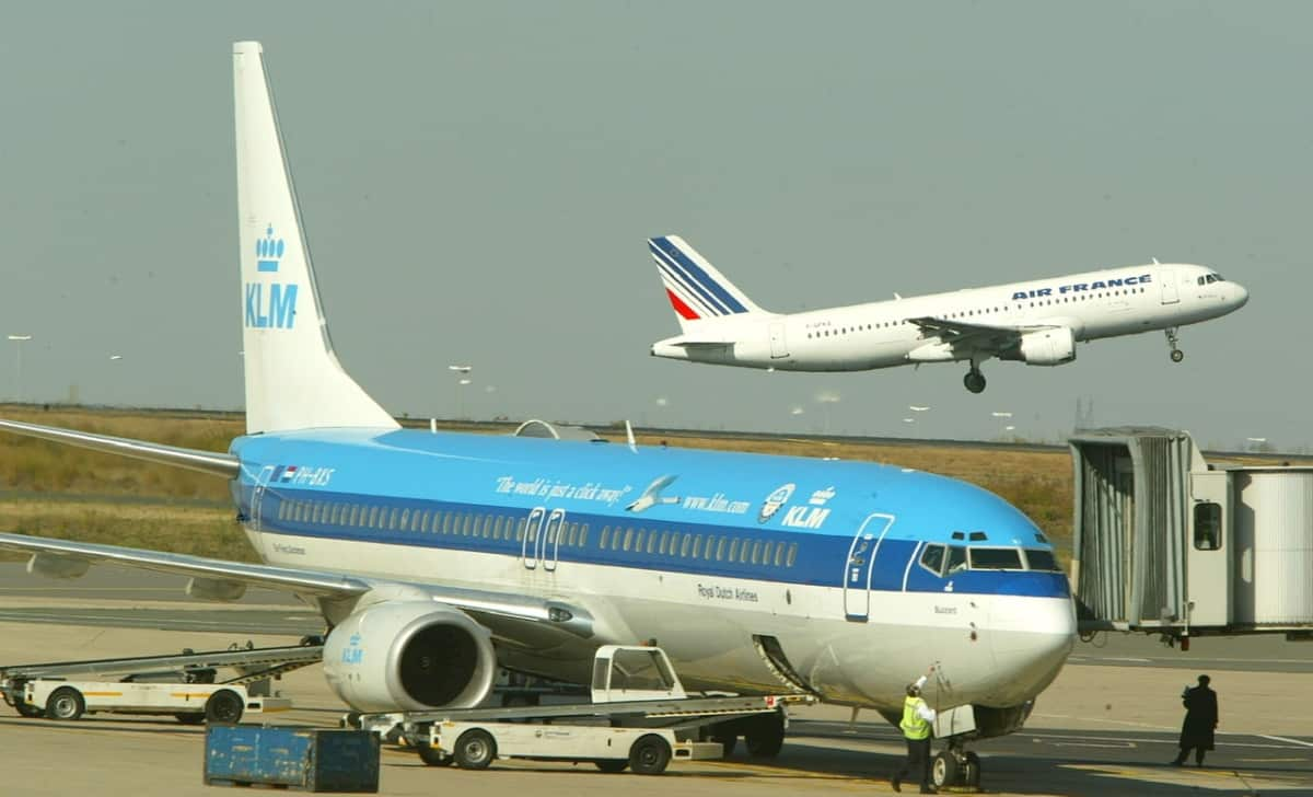 Air France and KLM
