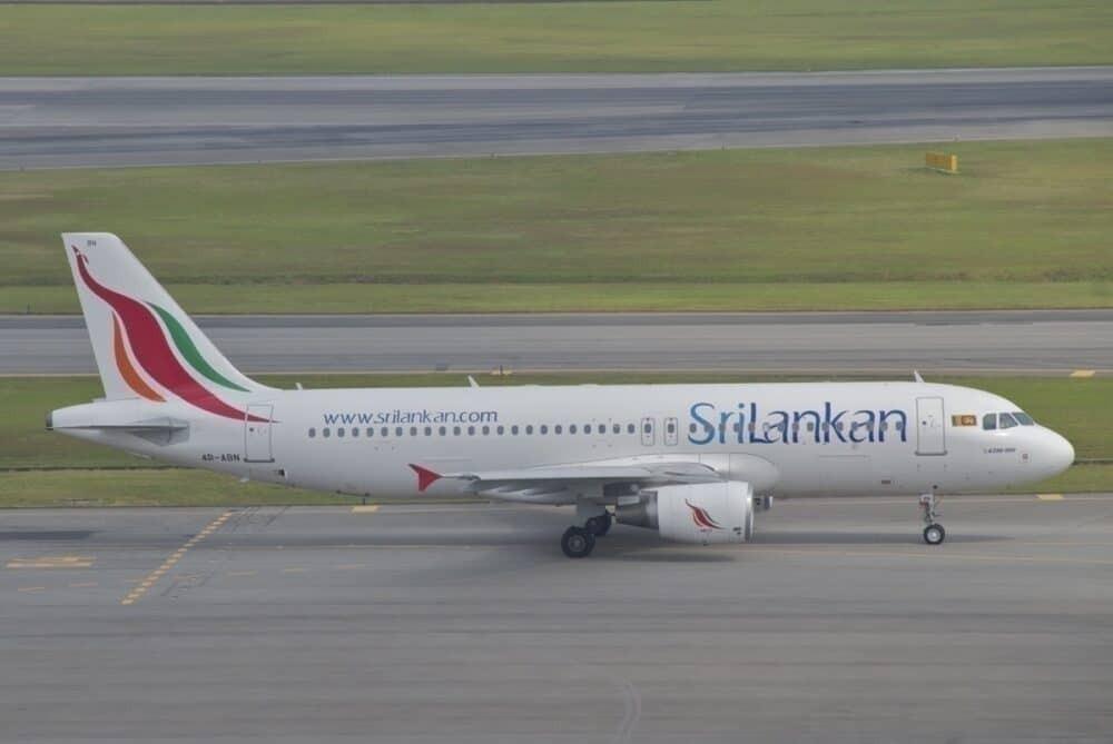 Sri Lankan A320 Repatriation