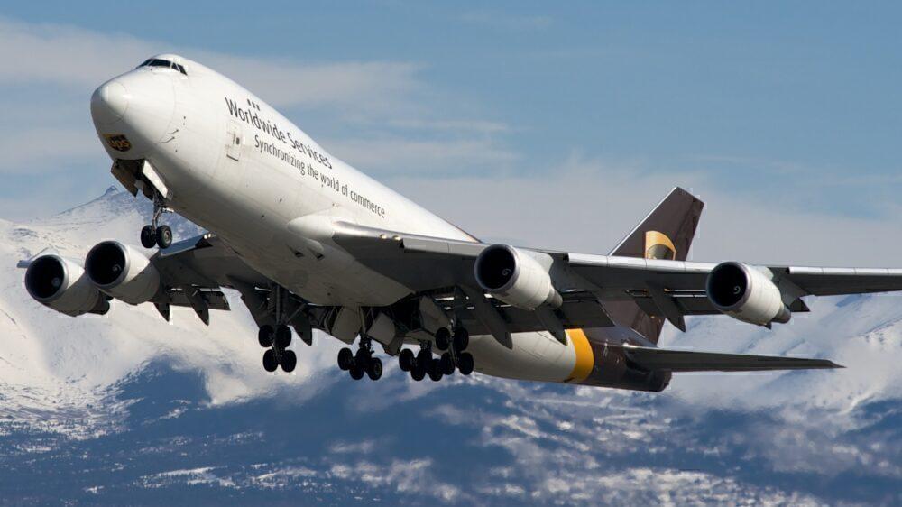 UPS Boeing 747F Anchorage