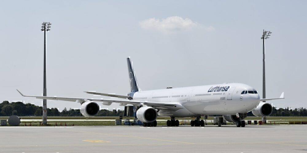 Lufthansa, Airbus A340, Graveyard