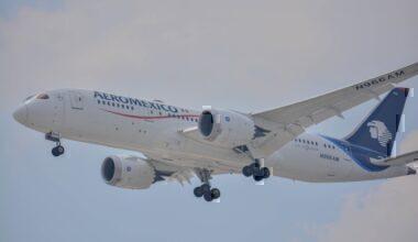 Aeroméxico B787 Dreamliner 2