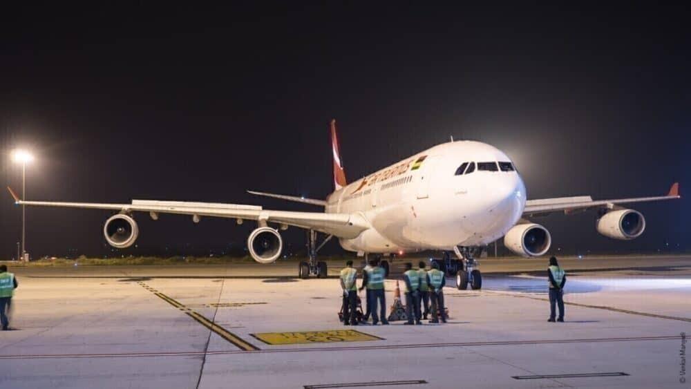 Air Mauritius' Airbus A340