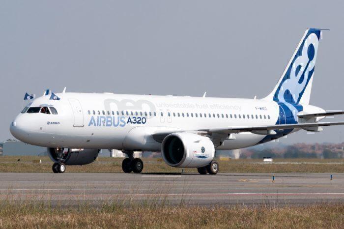 A320neo first flight