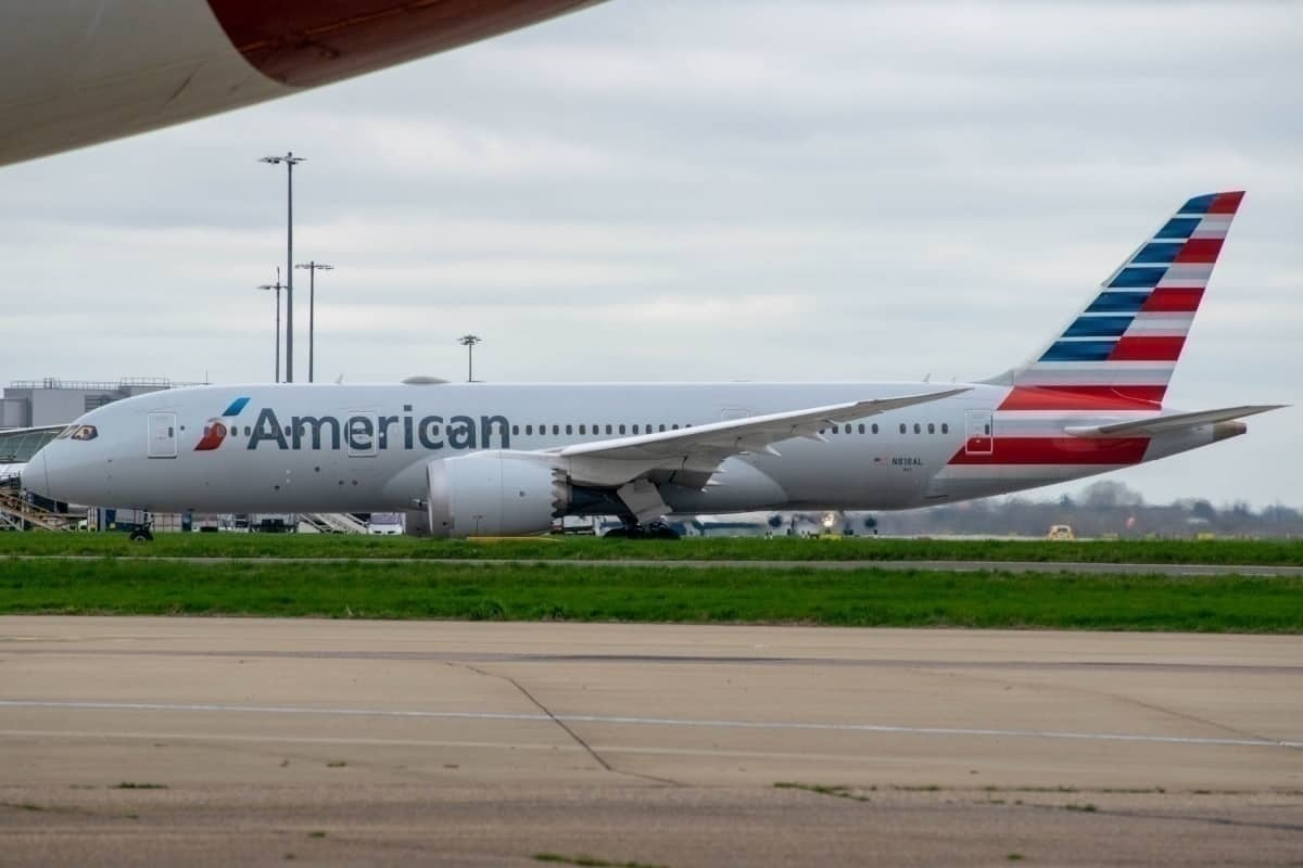Brand New American Airlines Boeing 787-8 Flies Straight To Storage