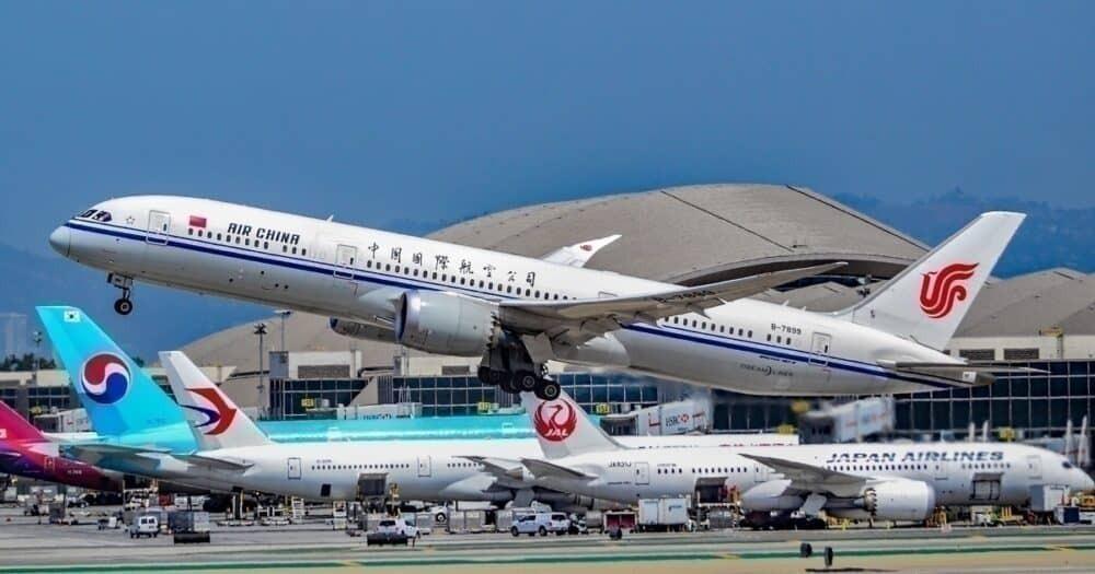 Air China 787, Korean Air