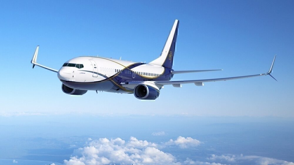 Boeing Flies In Medical Supplies From China With a 737-700