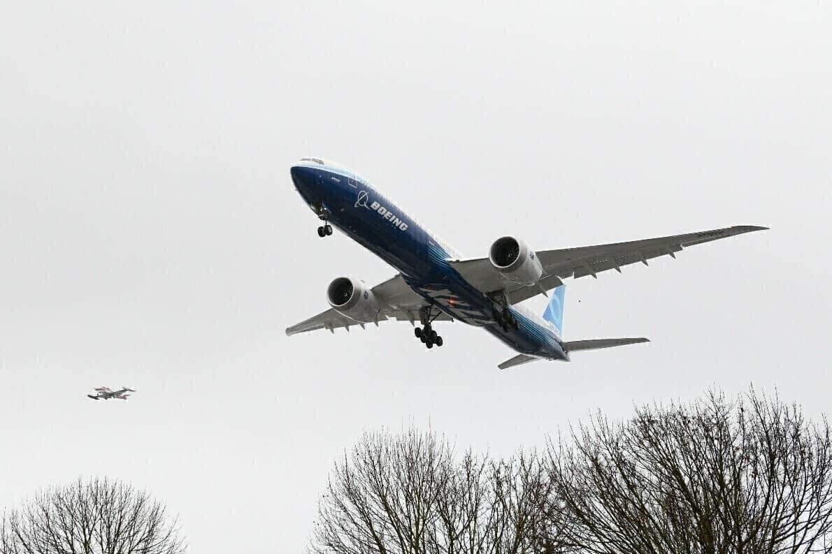 Boeing Resumes 777X Test Flights