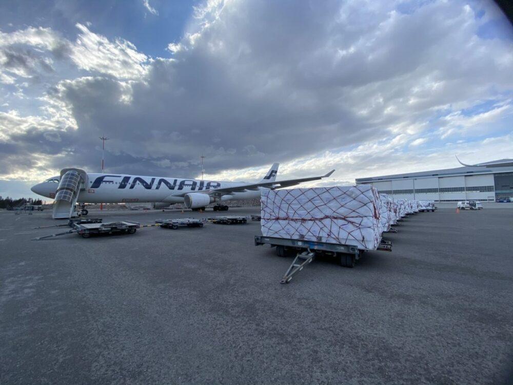 Finnair A350 Cargo