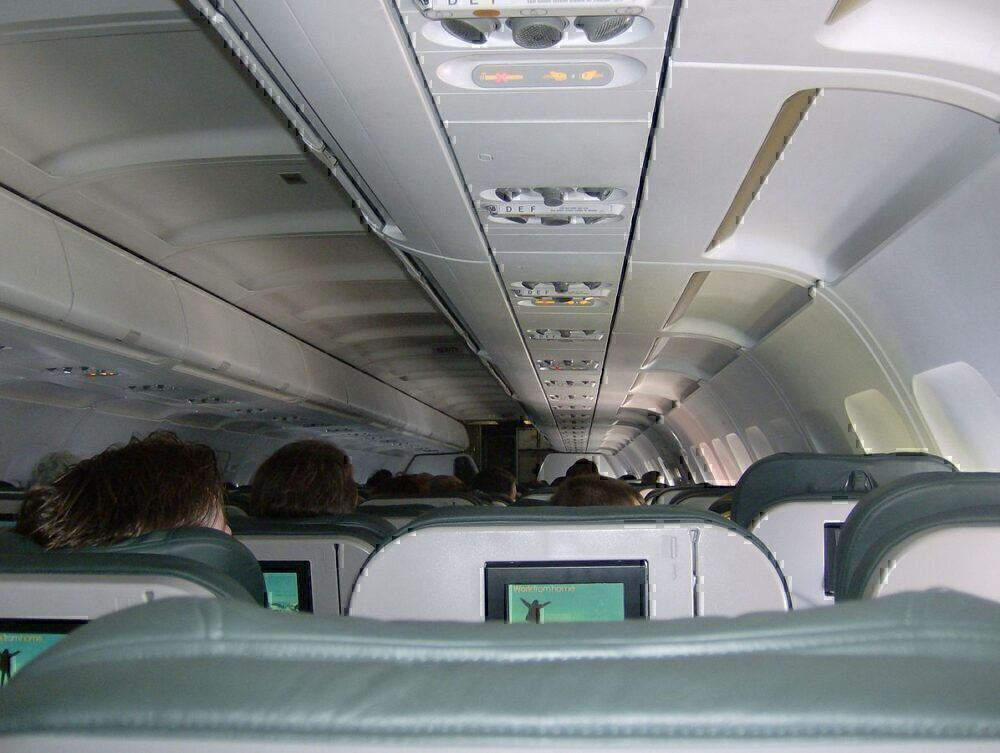 Frontier Airlines cabin