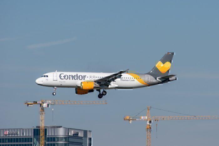 Thomas Cook Aviation, Condor, Bankruptcy