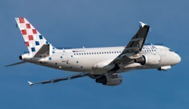 Croatia Airlines Airbus A319 aircraft