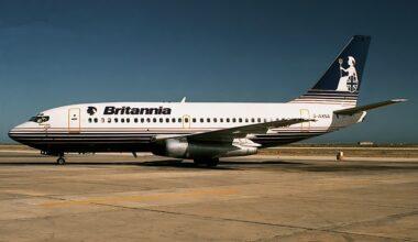 Britannia Boeing 737