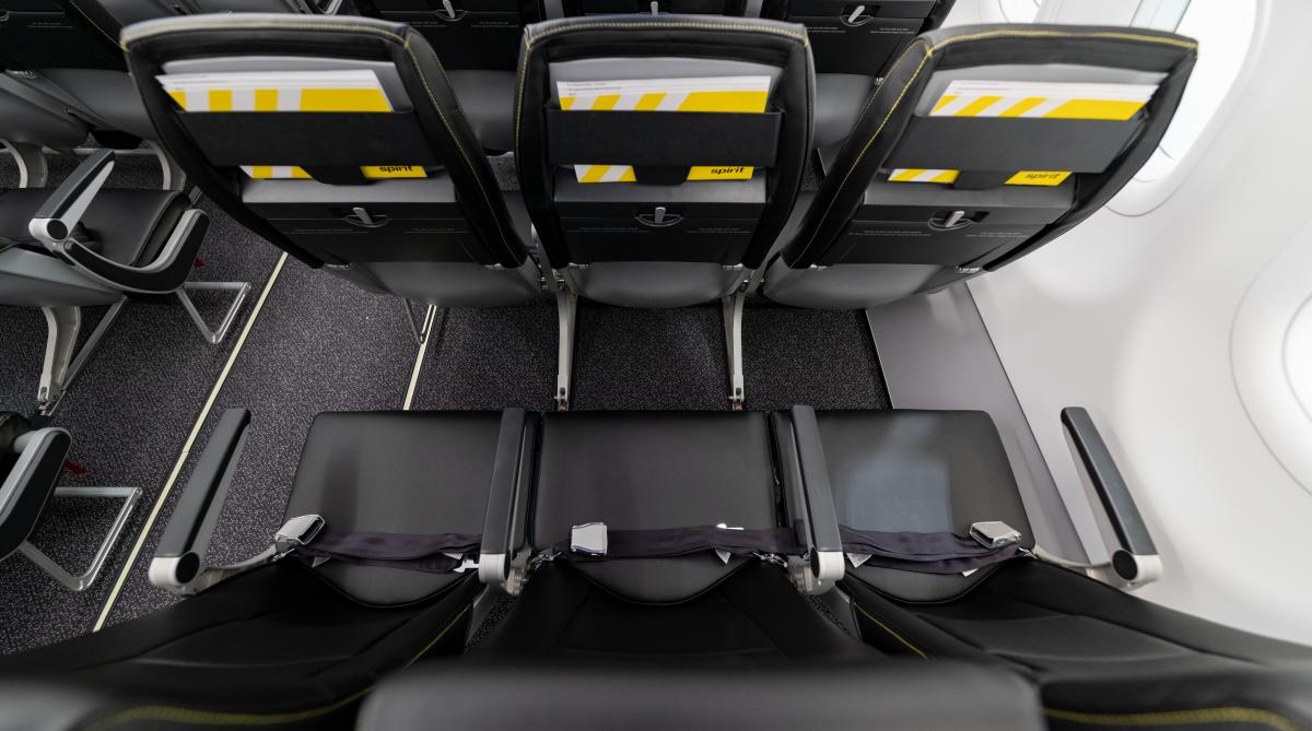 Spirit airlines acro seat