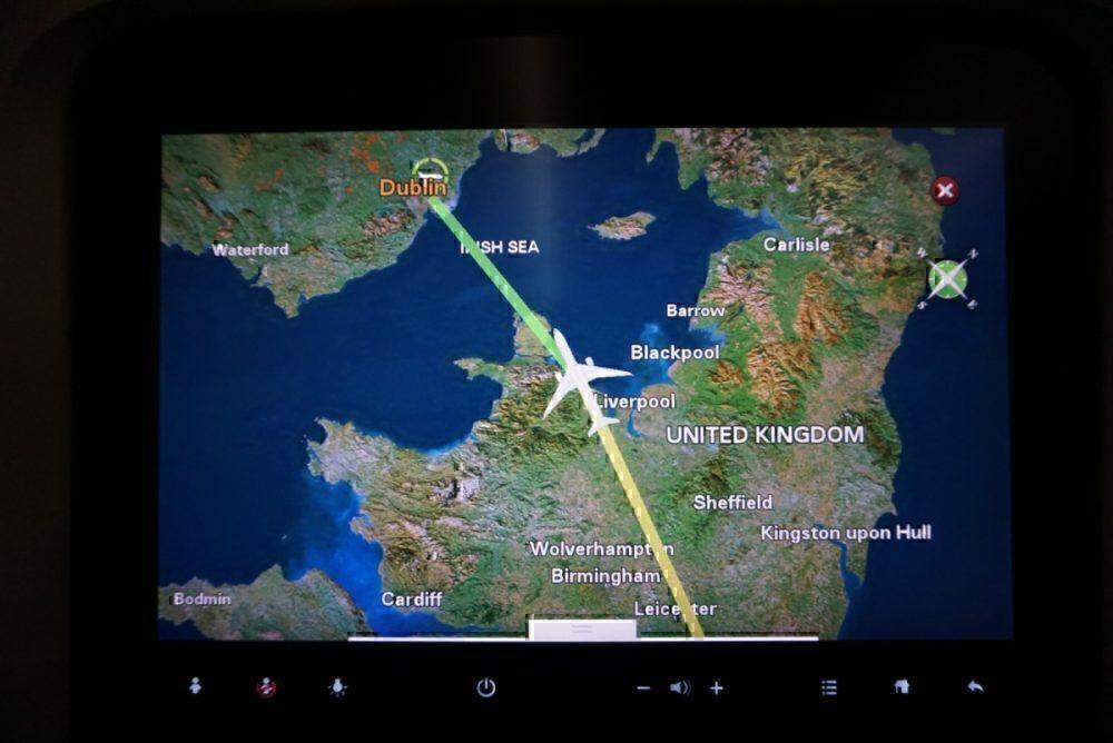 approaching Dublin
