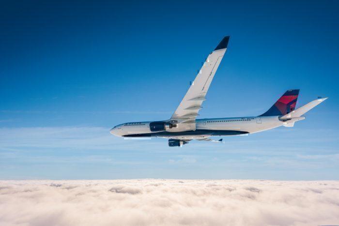 Delta plane in the sky