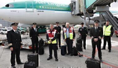 A330 Aer Lingus Cargo Flight