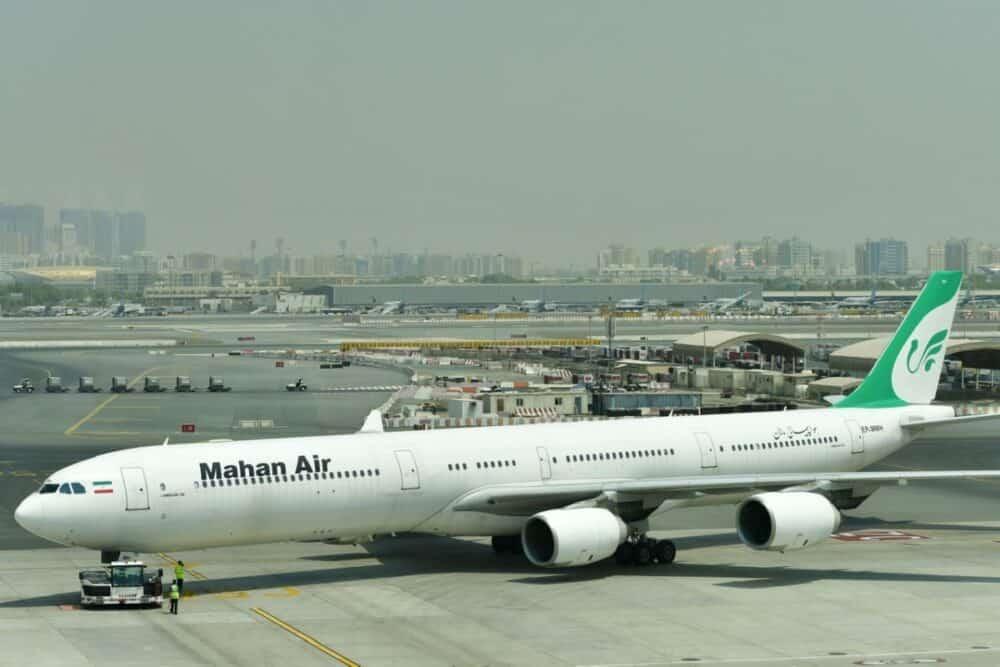 Mahan Air A340