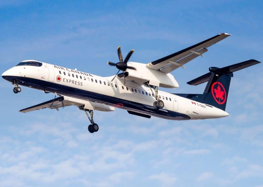 Air Canada Express converting Dash 8