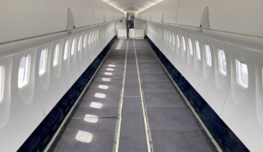 Air Canada Jazz operates Dash 8 freighter