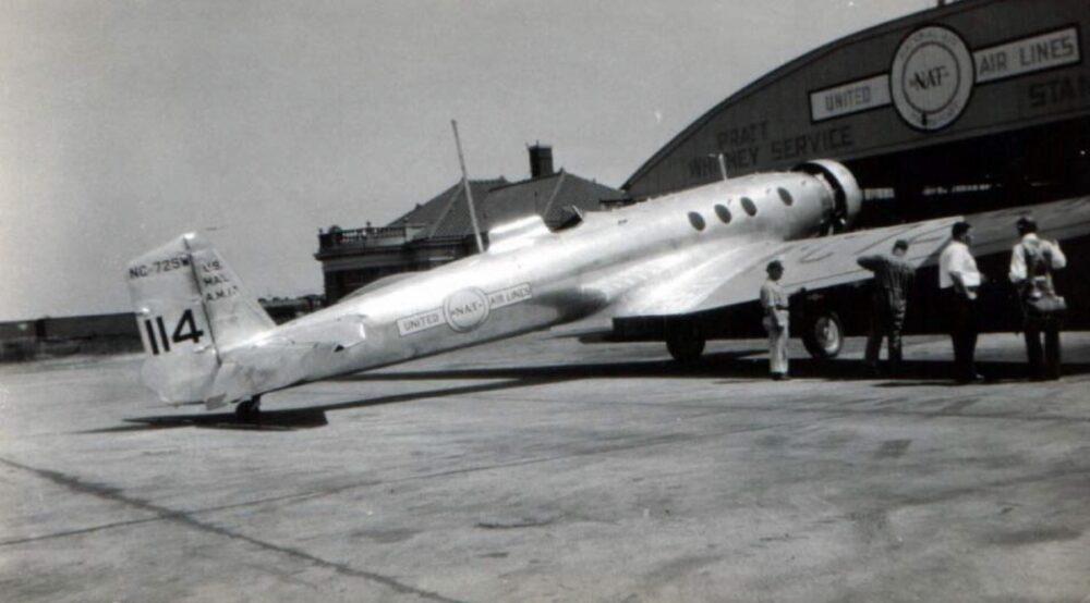 Boeing Monomail Hangar