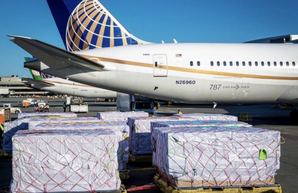 United 787 Cargo