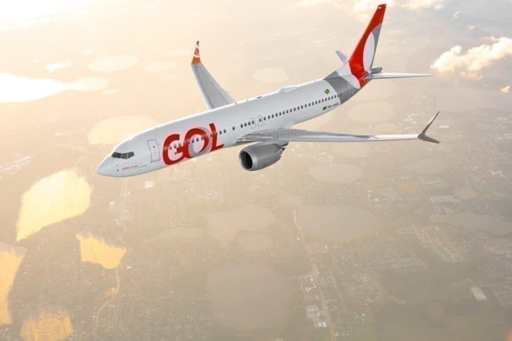 Foto avión GOL