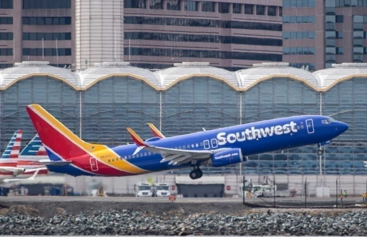 Southwest take-off