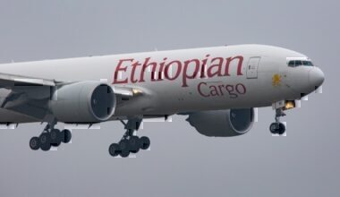 Ethiopian 777 cargo
