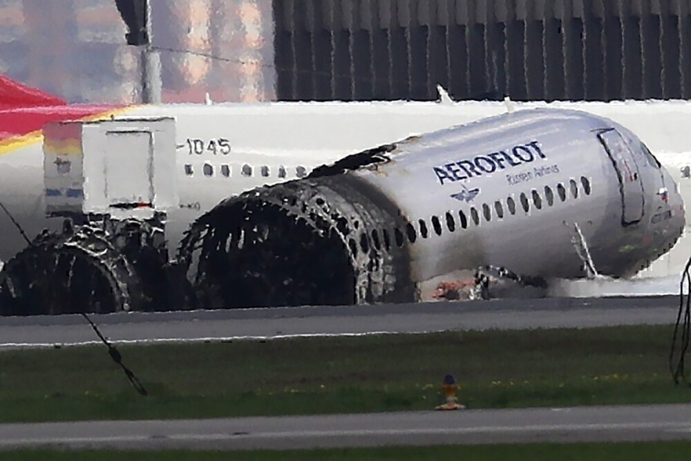 Deadly Russian plane fire from 2019 seen in newly released video