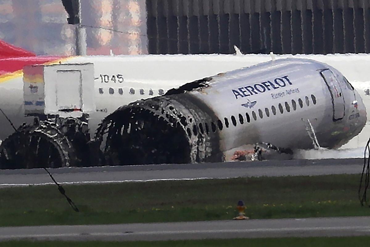 Aeroflot, SJ100 Crash