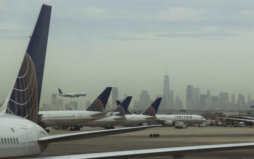 United Airlines Aircraft at Newark Liberty International
