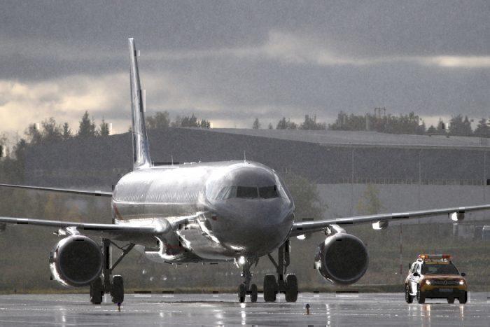 Aeroflot plane emergency landing Sheremetyevo