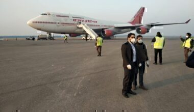 Air India Wuhan Evacuation Flight