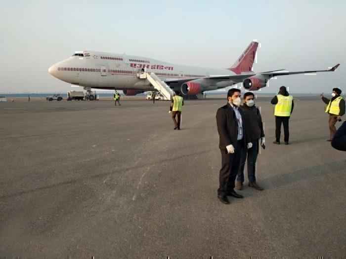 Air India Wuhan Evacuation Flight