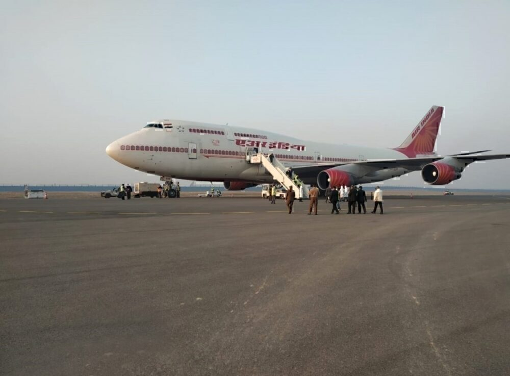 Air India Wuhan Getty