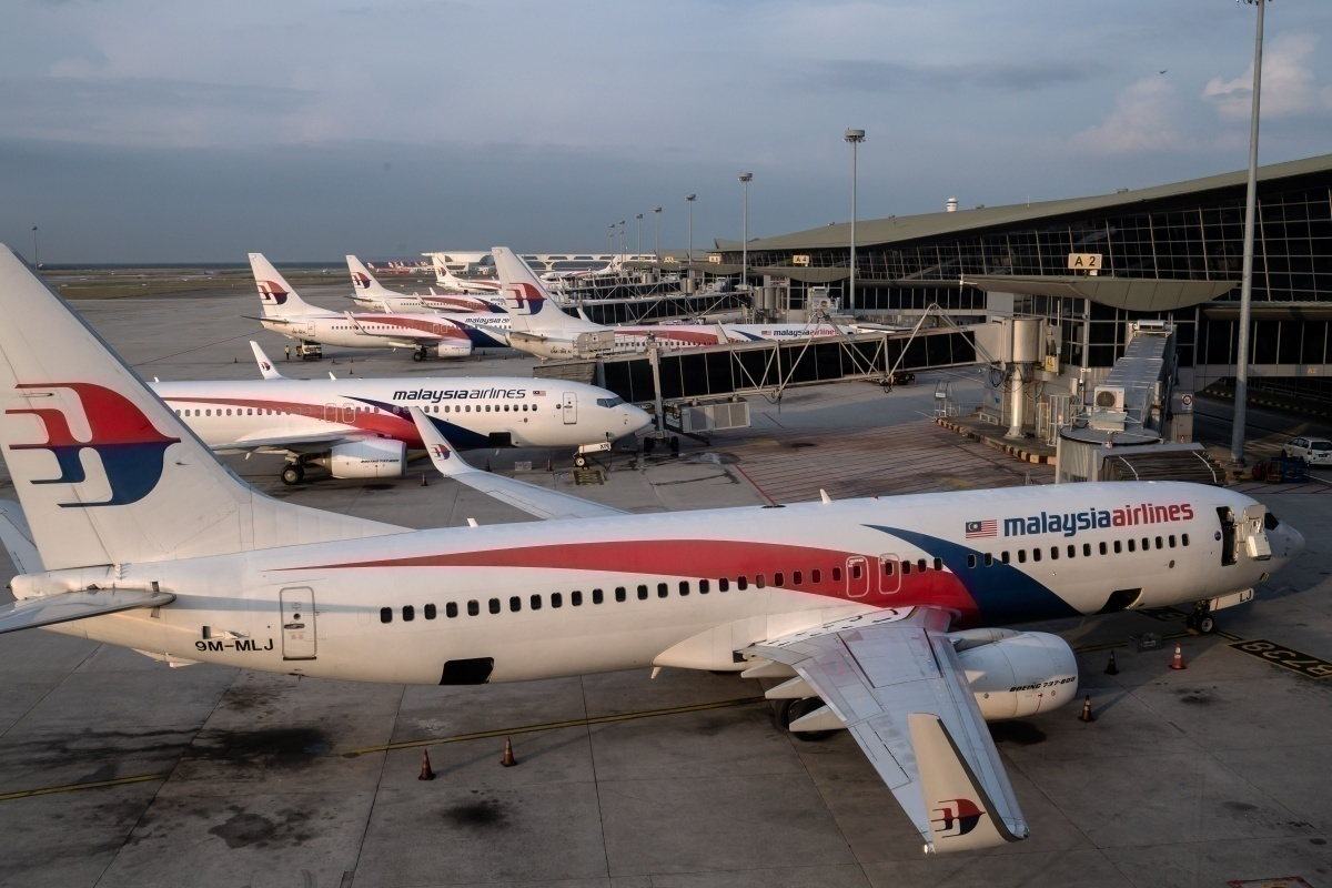 Malaysia Airlines grounded