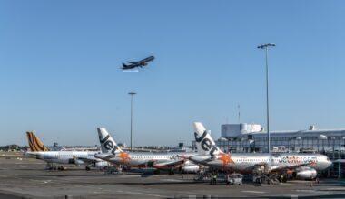 Australia Jetstar Virgin Qantas Tiger Sydney airport
