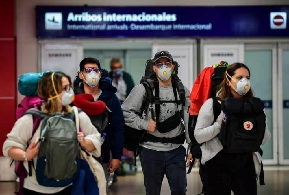 Face masks Argentina passengers